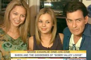 Charlie Sheen's 'Goddesses': Who Are Natalie Kenley and Rachel Oberlin?