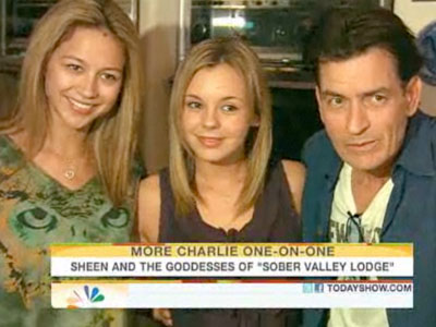 Charlie Sheen Goddesses