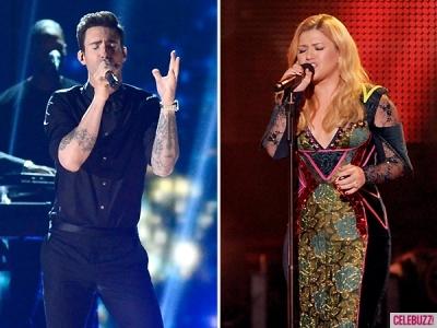 Adam-Levine-Kelly-Clarkson