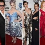 Johnny Depp and Amber Heard Join Sexy Stars at Art of Elysium Gala
