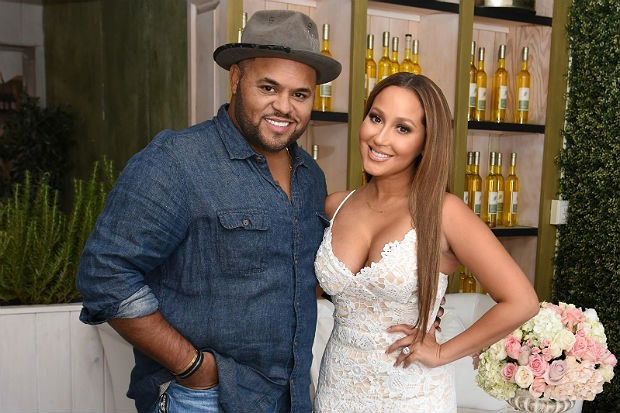 Adrienne Bailon is officially off the market