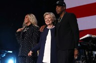 Beyoncé Gives Surprise Performance at Ohio Hillary Clinton Event
