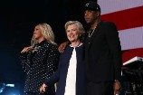 Beyoncé, Jay Z and Others Release a Get-Out-the-Vote Video, Supporting Hillary Clinton