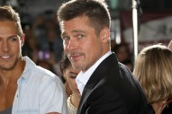 Brad Pitt Looks Handsome as He Hits First Red Carpet Since Angelina Jolie Divorce