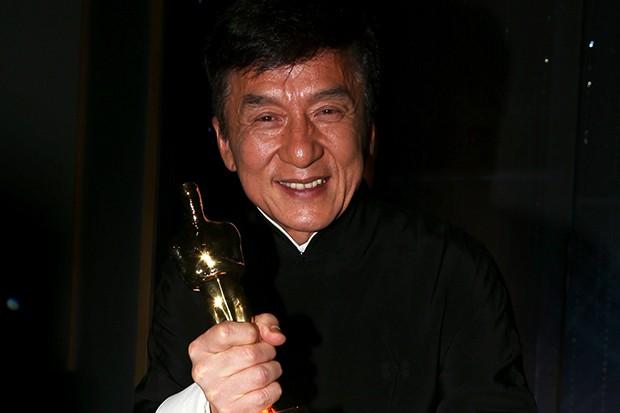 Jackie Chan Wins Oscar...