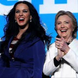 Katy Perry Rocks Her Patriotic Heart Out for Hillary Clinton