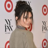 Kendall Jenner Posts a Sheer-Top Selfie