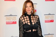 Lindsay Lohan Has Apparently Adopted Some Strange New Accent: Listen to It!