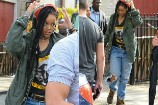Rihanna Is in Costume and Ready to Go on 'Ocean's Eight' Set