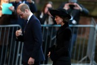 Prince William, Kate Middleton and Other Royals Attend Memorial Service for Duke of Westminster