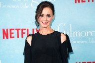 Alexis Bledel Accidentally Revealed a Major 'Gilmore Girls' Spoiler About Who She Ends Up With