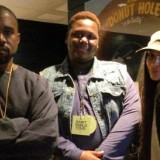 Kim Kardashian and Kanye West Meet with Alton Sterling's Son at Saint Pablo Tour Concert