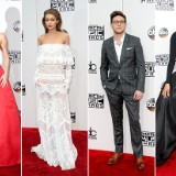 2016 American Music Awards Red Carpet Arrivals
