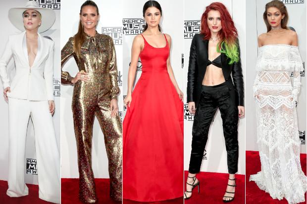 american music awards best worst dressed