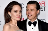 Angelina Jolie Is Reportedly Fighting Brad Pitt for Sole Custody of Her Children