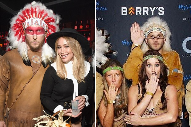 Becca Tobin Native American Costume halloween