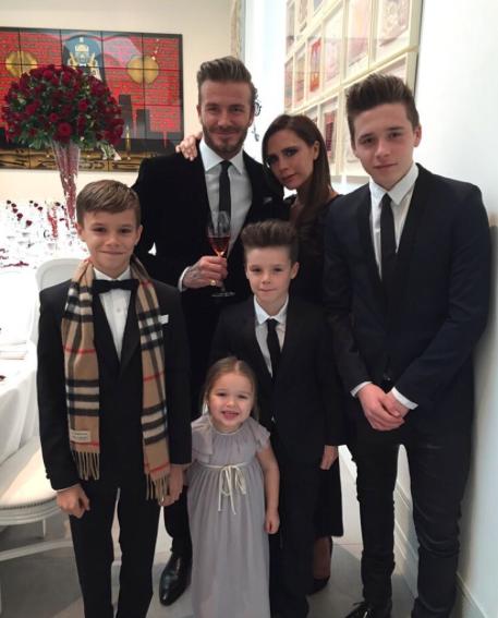 beckham-family