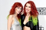 2016 American Music Awards: Bella Thorne and Dani Thorne Twin from Root to Tip