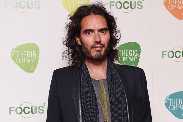 Russell Brand at the Life and Soul Fundraiser