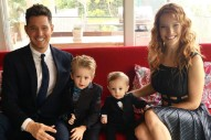 Michael Bublé's Three-Year-Old Son Noah Has Cancer