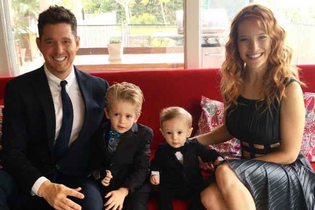 Michael Bublé and His Family