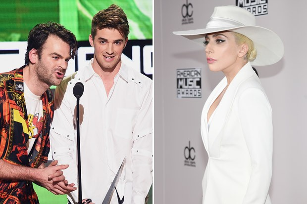 The Chainsmokers Comment on Their Feud with Lady Gaga