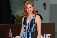 WATCH: Jessica Chastain Teared Up at Her Hand and Footprint Ceremony in Hollywood