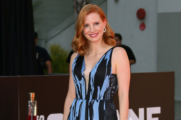 Jessica Chastain's Hand and Footprint Ceremony