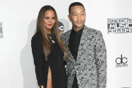 2016 American Music Awards: Chrissy Teigen Flaunts Major Skin with John Legend