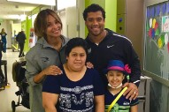 WATCH: Ciara Breaks Down in Tears During Children's Hospital with Russell Wilson