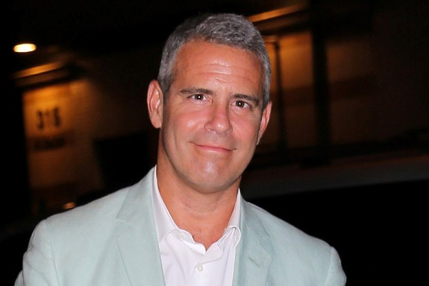 Andy Cohen Arrives at 'Watch What Happens: Live' Studio