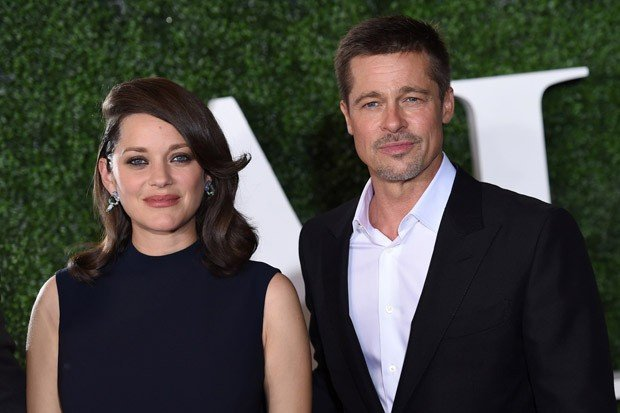 Brad Pitt and Marion Cotillard Attend the 'Allied' Premiere
