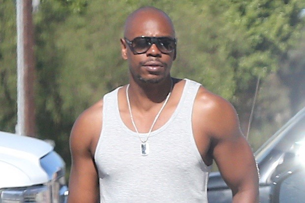 Dave Chapelle Shopping In West Hollywood