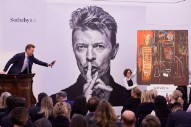 David Bowie's Art and Furniture Auction Raises $30 Million on the First Day