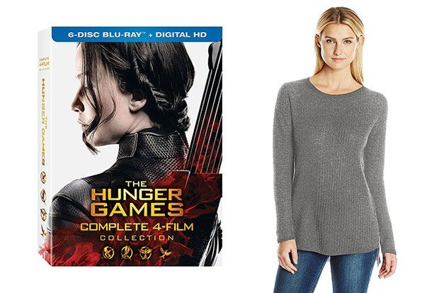 Deals of the Day: Hunger Games Film Collection, Panasonic Razors and More