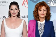 Susan Sarandon and Debra Messing Are Still Feuding About the Election