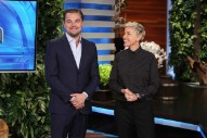 WATCH: Leonardo DiCaprio Surprises Fans on 'Ellen' to Promote His New Documentary 'Before the Flood'
