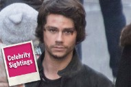 Dylan O'Brien Back on Set Following 'Maze Runner' Accident Leads Today's Star Sightings