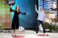 WATCH: Emma Stone Twerks and Does the 'Single Ladies' Dance on 'Ellen'