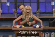 WATCH: Joe Jonas, Jason Sudeikis and Kristin Chenoweth Sculpt Really Phallic Objects