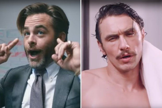 Chris Pine and James Franco Both Star in Humorous Political Ads