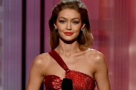 Gigi Hadid Apologizes for Her Controversial Melania Trump Impression at AMAs