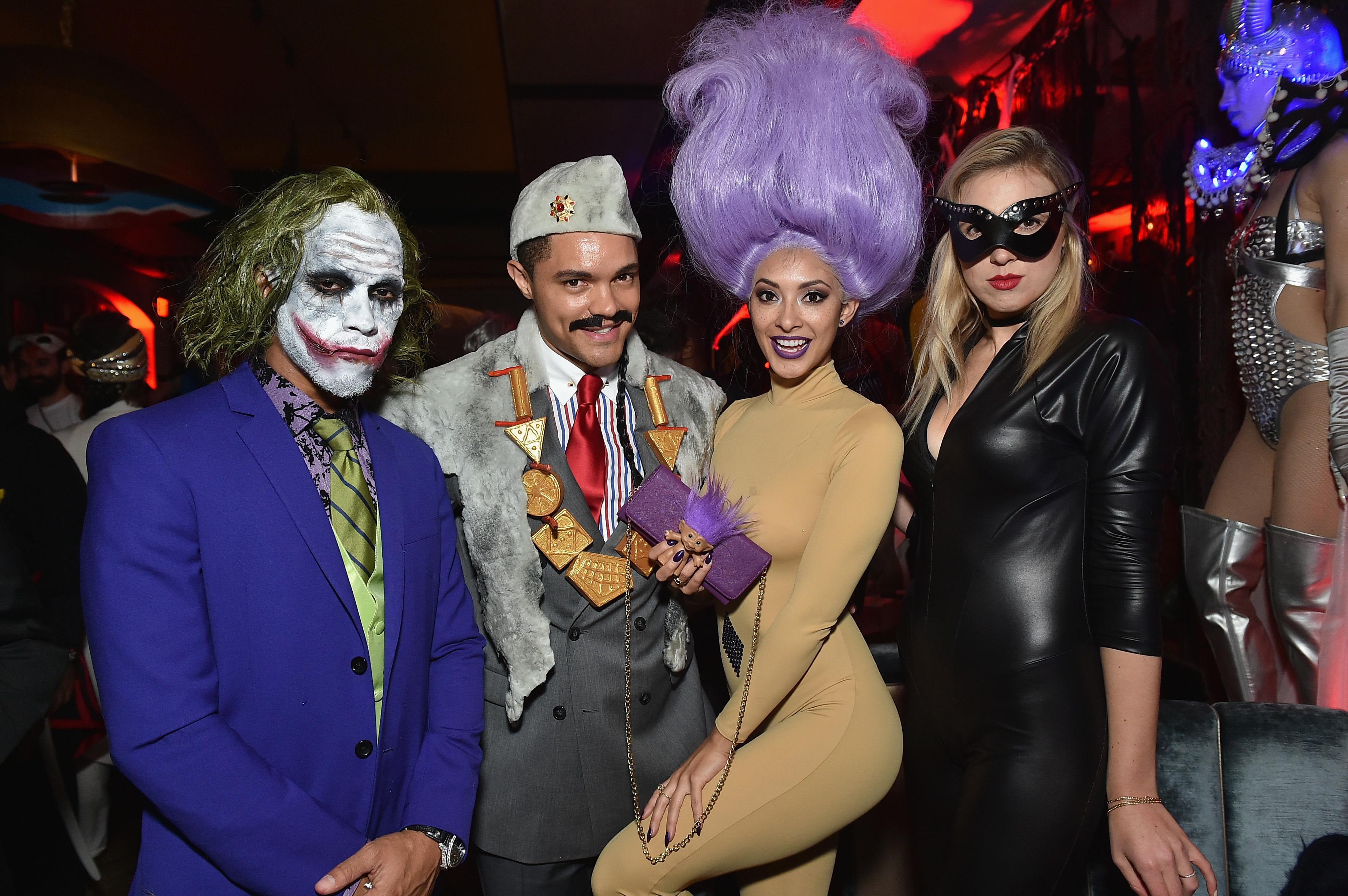 Celebrities Attend Heidi Klum's 17th Annual Halloween Party ...