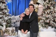 WATCH: James Marsden Meets His Longtime Crush Helen Mirren