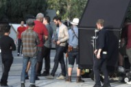 Jamie Dornan Spotted on Set as He Begins Filming 'Untogether'