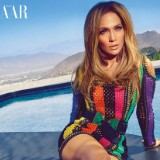 Jennifer Lopez Wore a White Fur Coat While in Labor with Her Twins