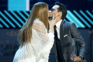 Exes Jennifer Lopez and Marc Anthony Locked Lips at the Latin Grammys
