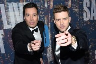 Jimmy Fallon Improvises Songs with Justin Timberlake for New Snapchat 'Tonight Show' Series