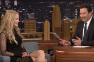 WATCH: Feel Uncomfortable While Jimmy Fallon and Nicole Kidman Discuss Their Failed Dating History
