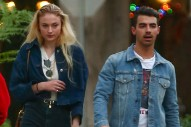 New Couple Joe Jonas and Sophie Turner Wear Matching Denim Outfits for Date Night